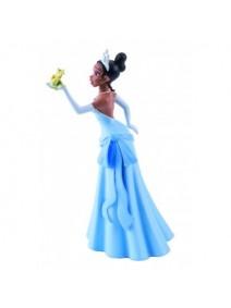 Figura Princesa Tiana con rana