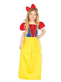 Disfraz infantil de Blancanieves