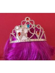Diadema Plateada  Princesa