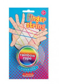 Juego de goma dedos - Finger String