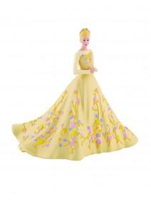 Figura para Tarta Cenicienta Vestido de Novia