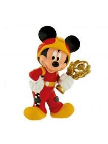 Figura para tarta Mickey Mouse piloto de carreras