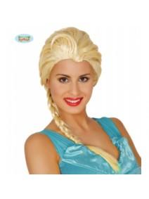 Peluca Princesa Hielo