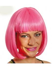 peluca rosa