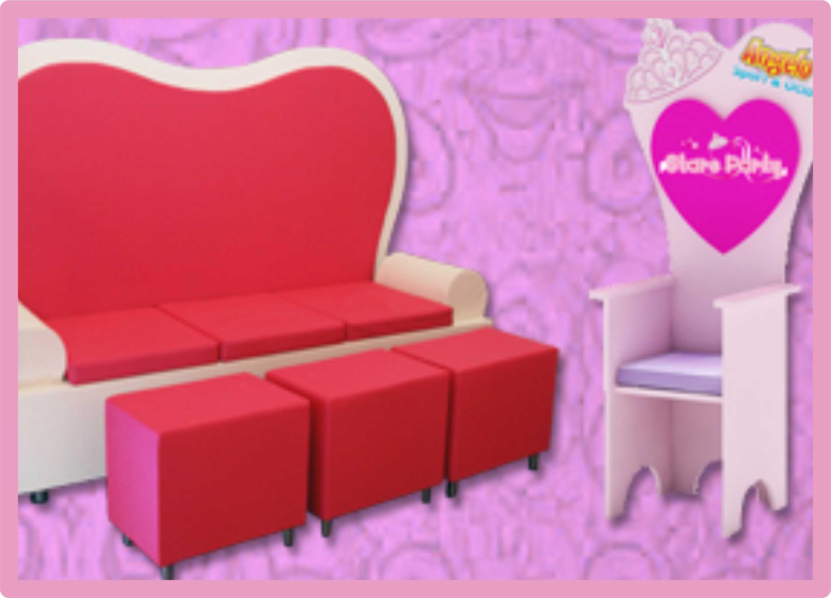 Mobiliario para Princesas