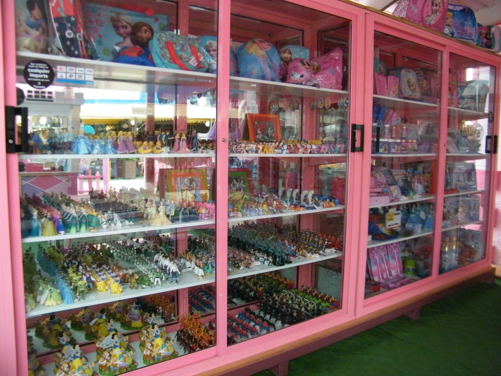 tienda mostrador stars party
