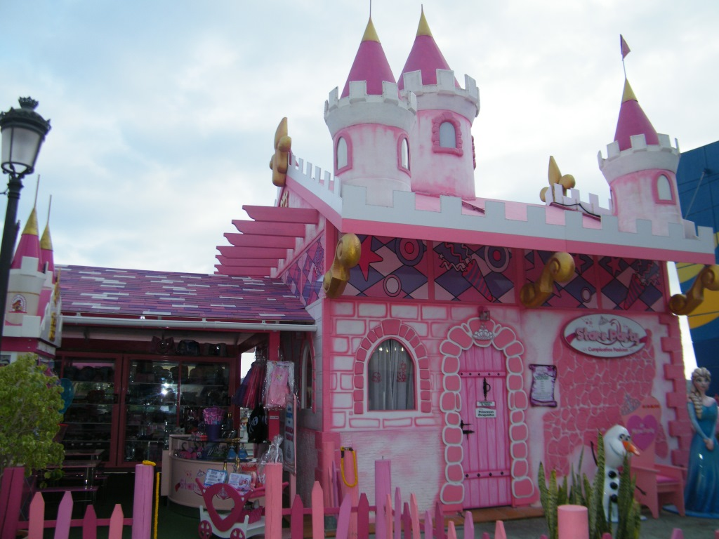 castillo de princesas benidorm