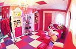 Castillo de princesas niñas