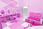 Mobiliario rosa