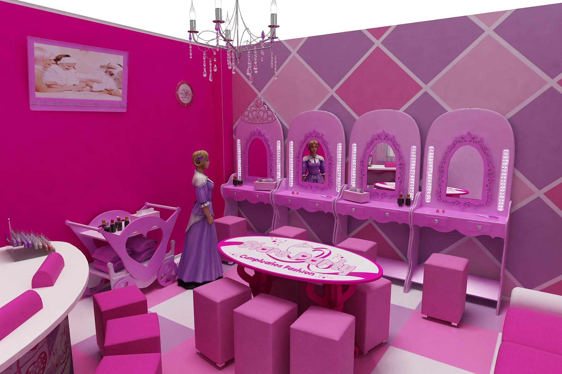 castillo princesas Stars Party San Lucar