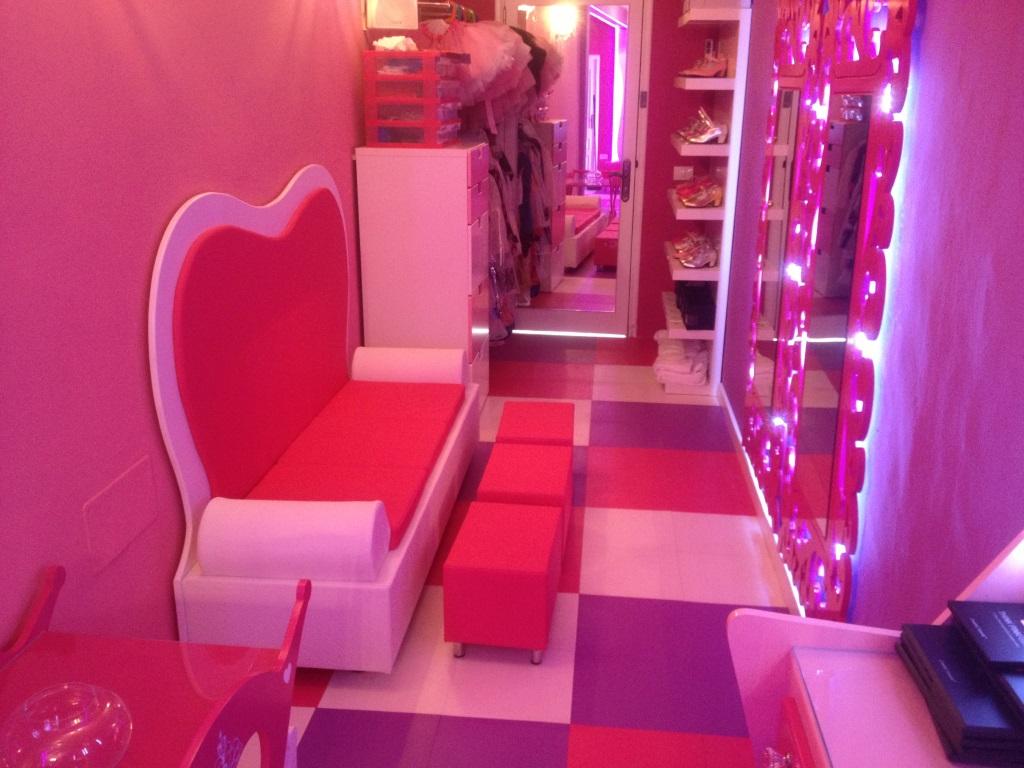 sala stars party interior