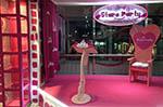 trono de cumpleaños rosa