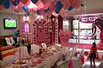 Fiesta de cumpleaños en la sala stars party