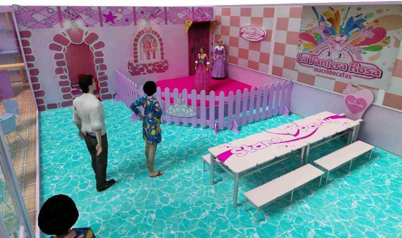 sala princesas stars party