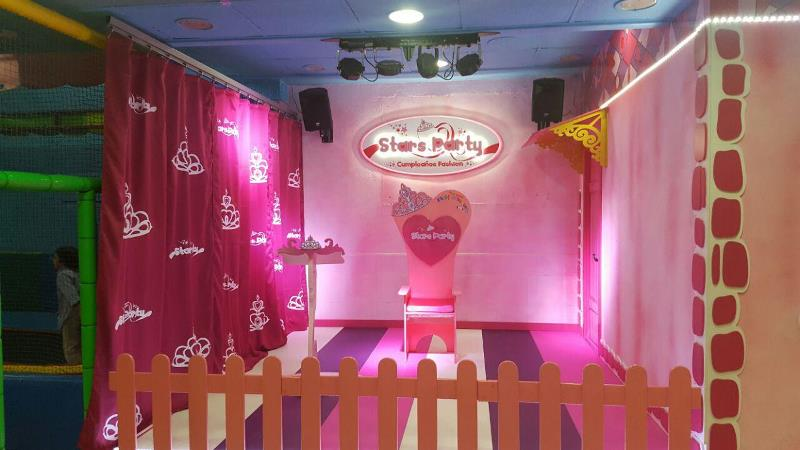 castillo princesas Stars Party Chafiras